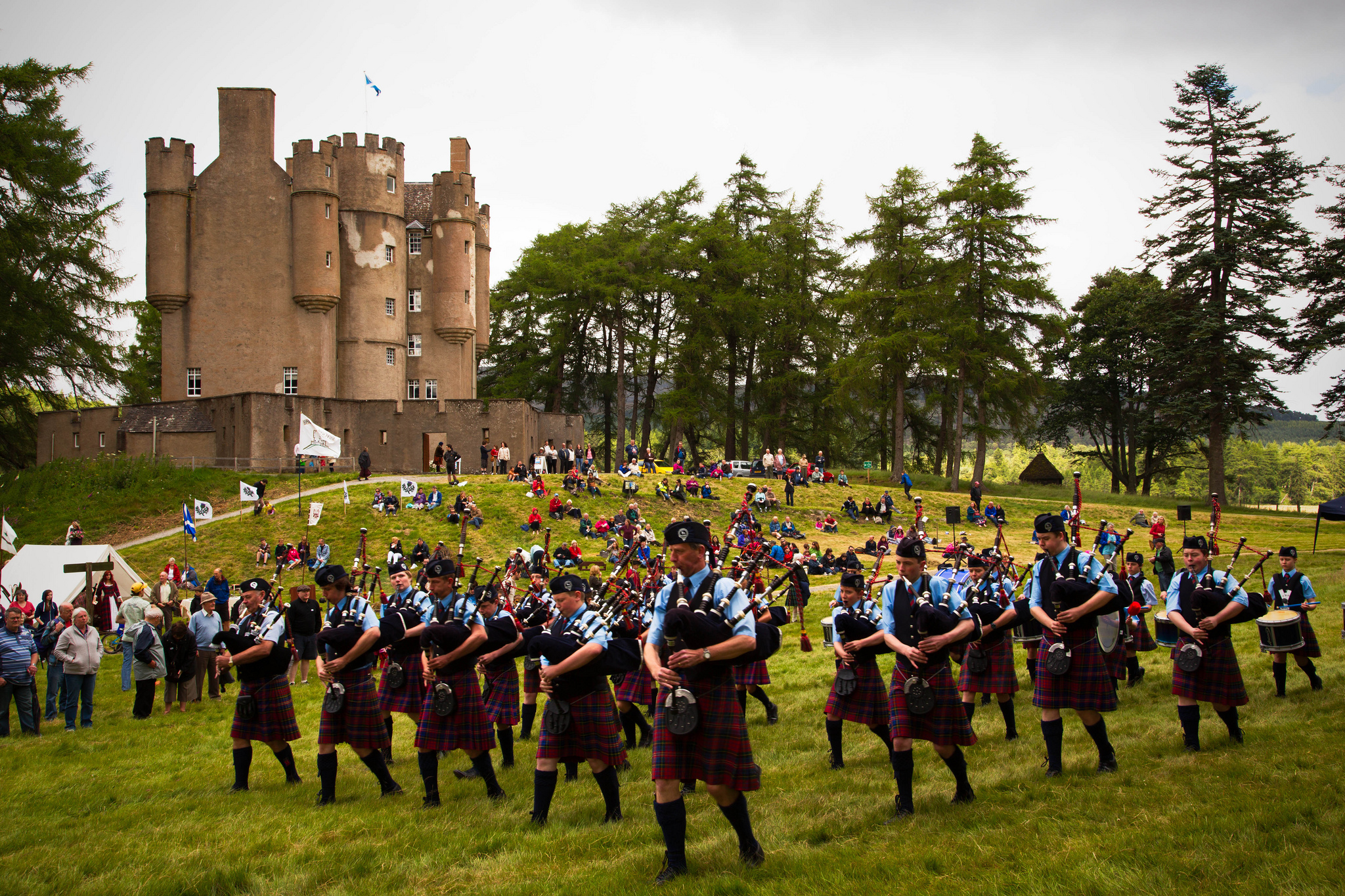 Enjoy a thoroughly Scottish day with the Braemar Gathering via Drumscot