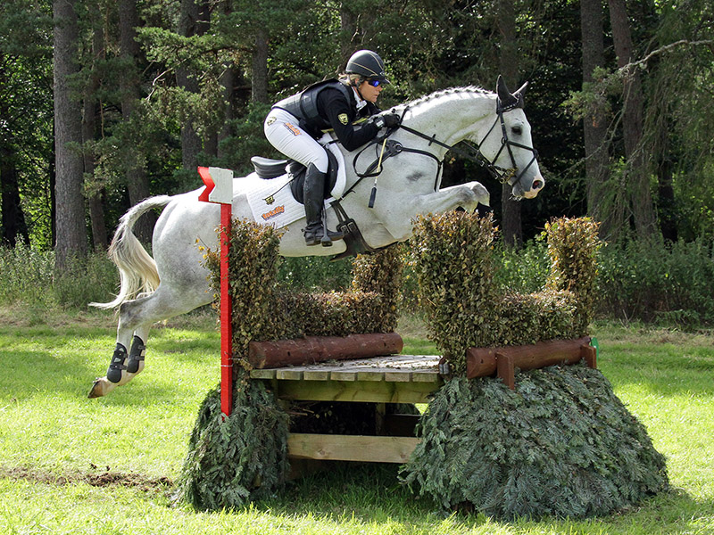 The Blair Castle Horse Trails are Scotland's only three-start three-day event.
