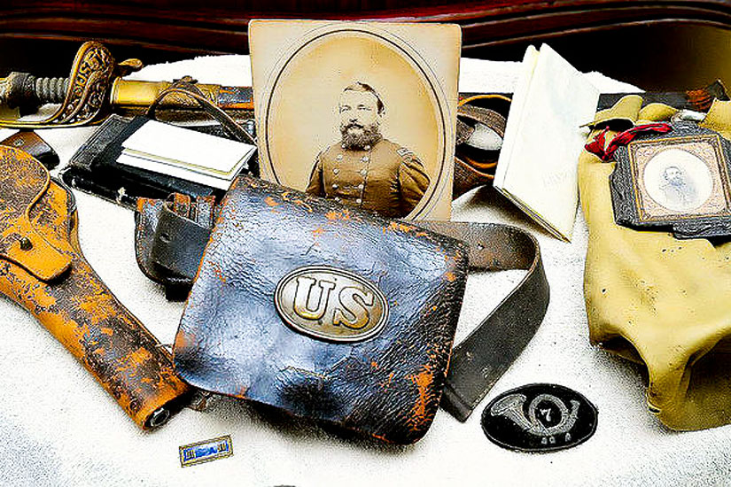 Photo-of-collectible-civil-war-memorabilia-nj-collectibles