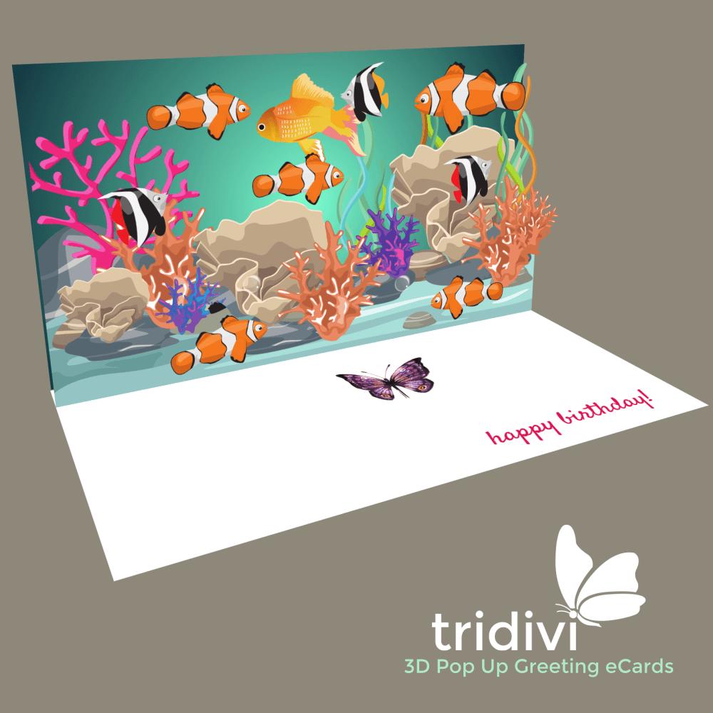 3D Pop Up Online Greeting Card Maker - tridivi™
