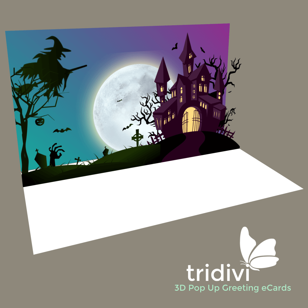 Halloween 3d Pop Up cards and ecards