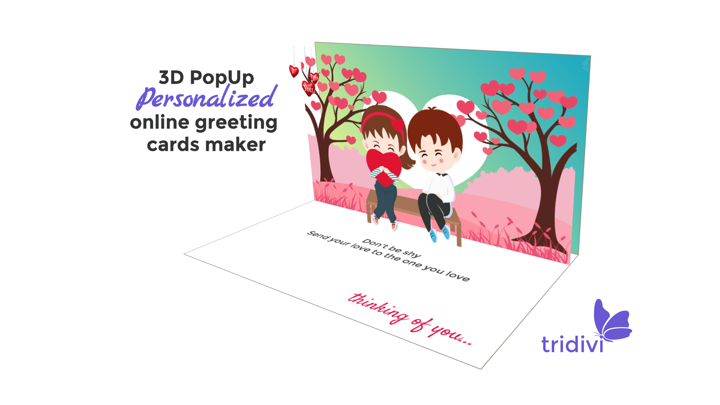 Free Romantic online cards I Love You, Thinking of You greeting cards