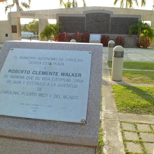 Plaza Cenotafio Roberto Clemente (entrada), Carolina.