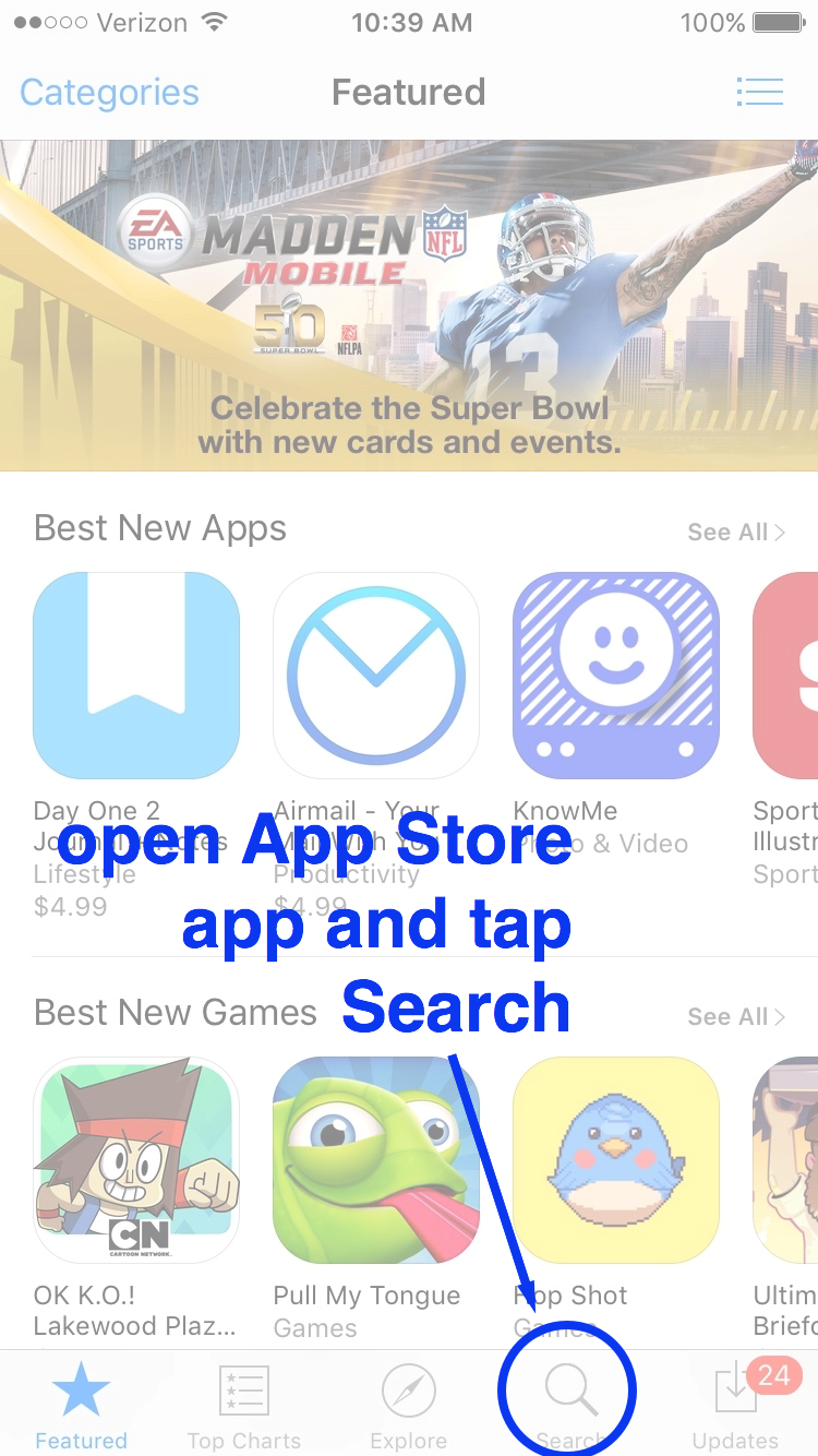 FAQ App Store Review