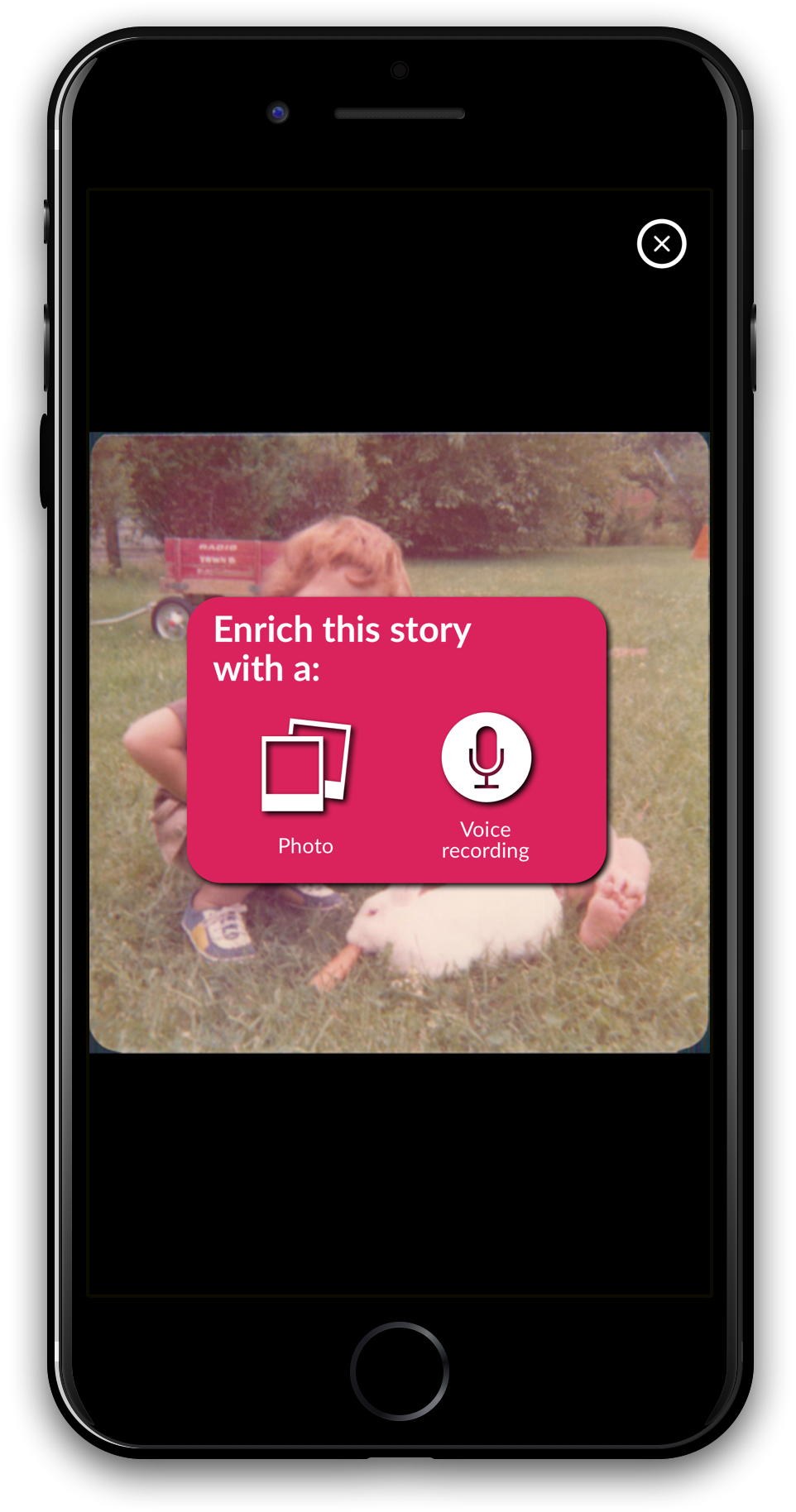 58a7832730bebf3d0b9d4883 StorygloryEnhanceStoryPhone - A fun way to tackle that mountain of family photos with StoryGlory