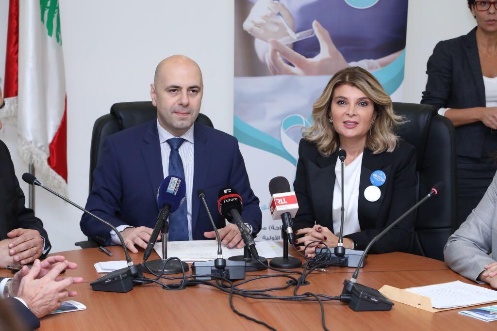 حاصباني: مستمرون بالتوعية لمكافحة الأمراض وتخفيض الفاتورة الإستشفائية