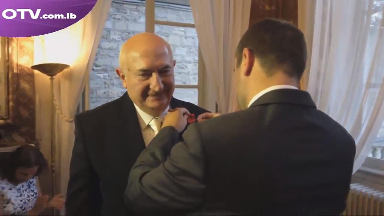 فرنسا تكرّم الدكتور أنطوان معلوف على مسيرته وانجازاته