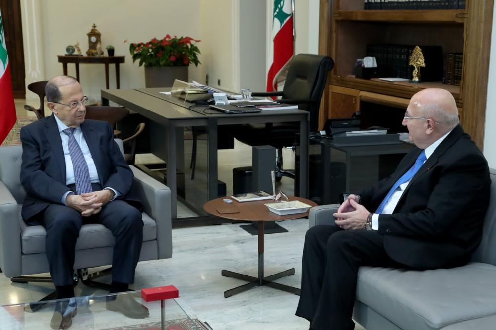 الرئيس عون استقبل رئيس مستشفى المشرق الدكتور أنطوان معلوف