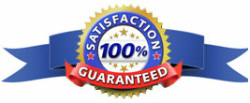 Satisfaction guaranteed for your blind cleaning service.