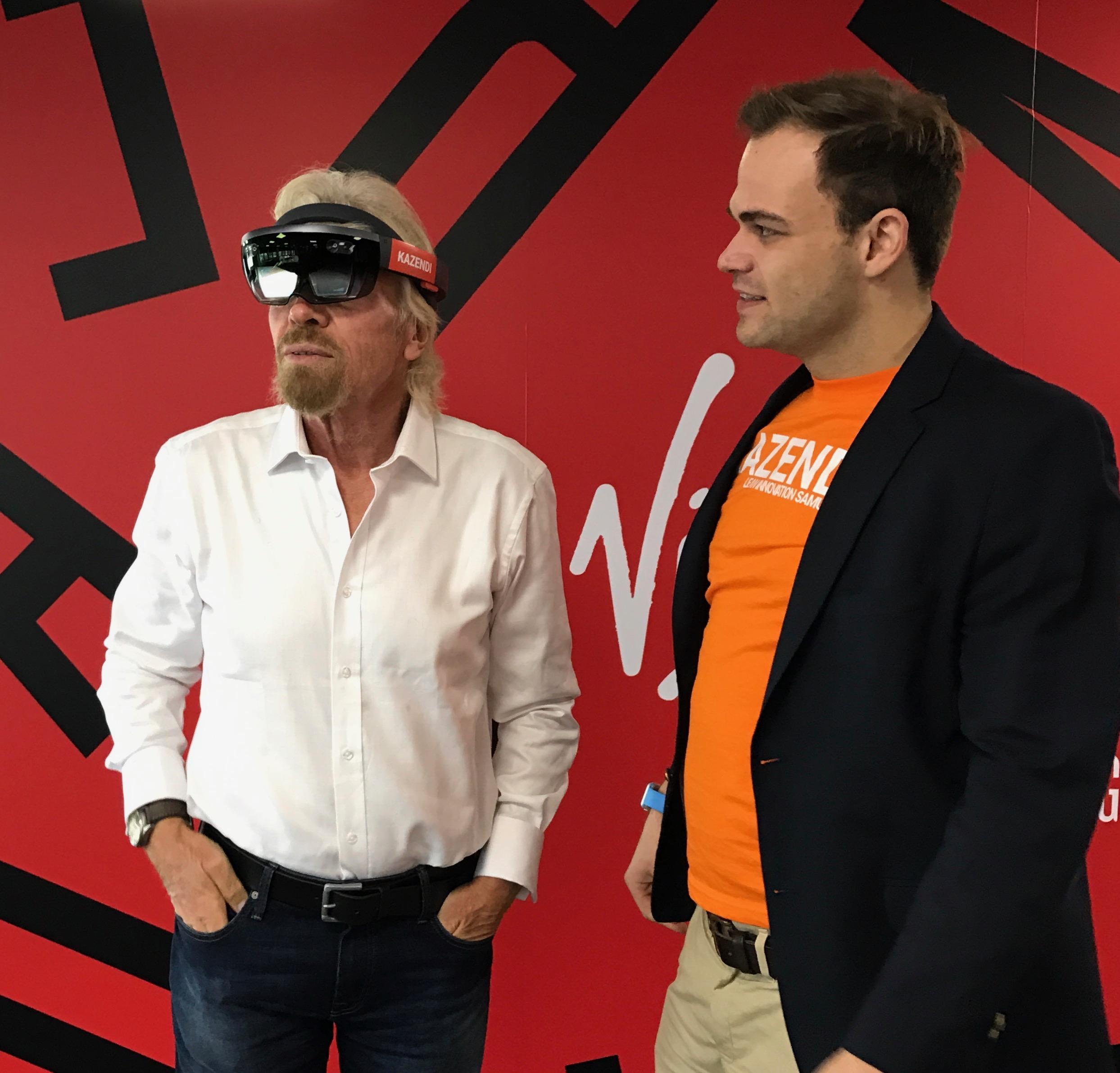 Richard Branson & Maximilian Doelle