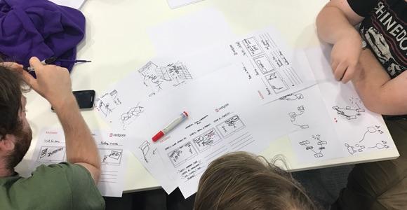 Redgate HoloLens Ideation - Storyboarding