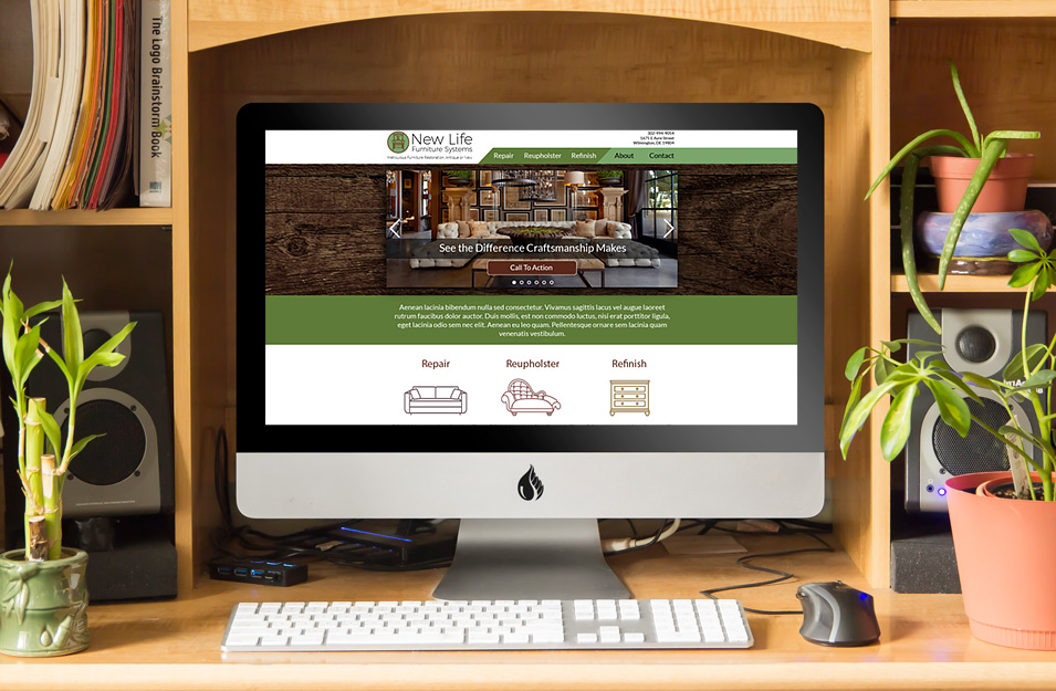 New Life Furniture Systems Desktop Photo