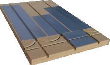 Pose plancher chauffant Caleosol ECO+