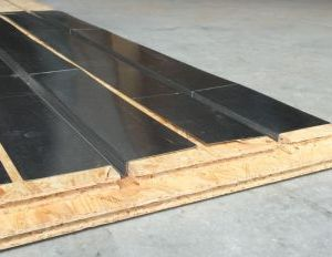 Pose plancher chauffant Caleosol 2 en 1 OSB