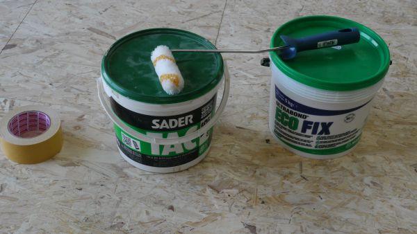 Préparation sol pour dalle plancher chauffant Caleosol tradi TMS