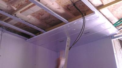 La pose de plafond chauffant à Caluire-et-Cuire se fait très rapidement