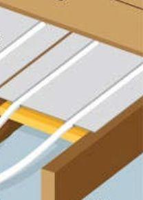 Pose plancher chauffant rénovation entre solives : le plancher chauffant par Caleosol