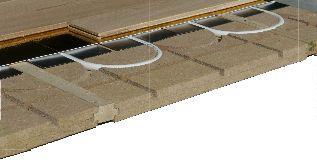 Kit plancher chauffant Caleosol Tradi ECO+ 40mm L:60 cm  Lambourdes
