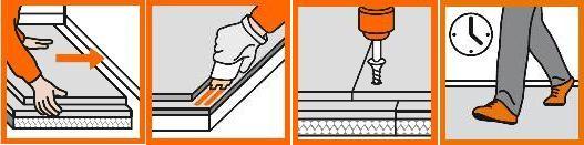 La pose de chape sèche plancher chauffant fermacel extrèment rapide et facile