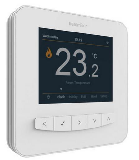Thermostat internet pour mur chauffant (à placer sur un mur non chauffé)