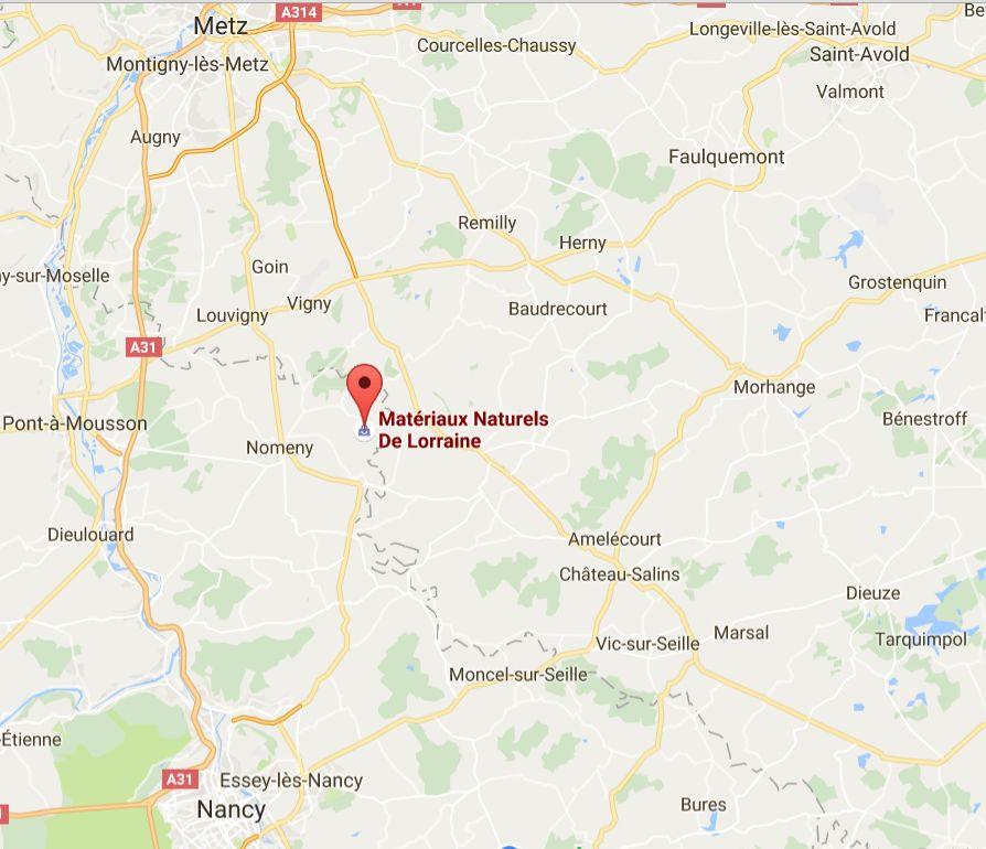 Magasin plancher chauffant Metz: Materiaux naturels de Lorraine