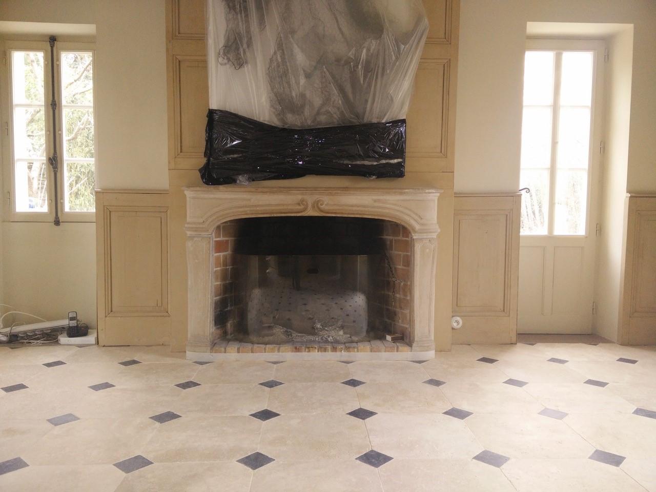 Atôme Rénovation Manoir Plancher Chauffant Montfort l'Amaury  Versailles