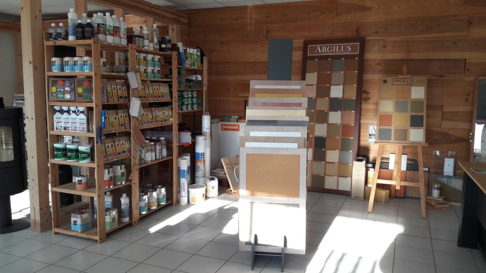 Espace dédié à la formation du plancher chauffant Caleosol à Poitiers Jaunay