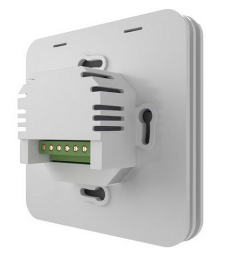 Thermostat Heatmiser SmartStat vue de dos