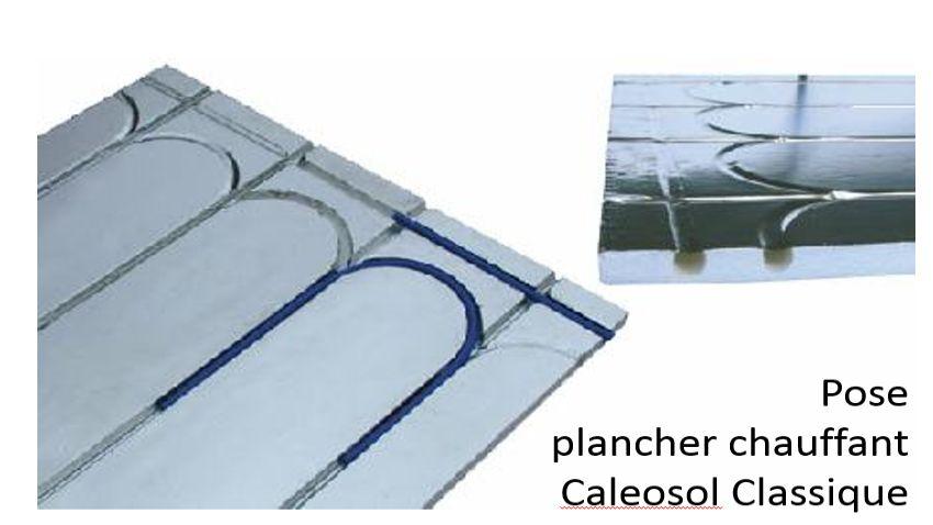 Le Caleosol classique en 13mm d'épaisseur pour collage direct de carrelage