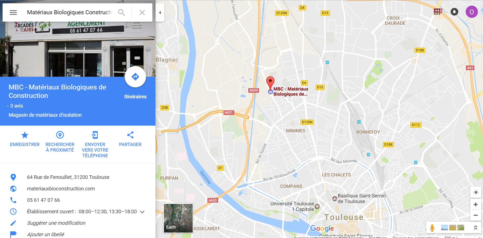 Position magasin plancher chauffant MBC à Toulouse