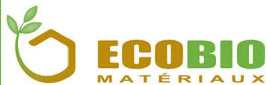 Magasin plancher chauffant Limoges EcoBio Matériaux