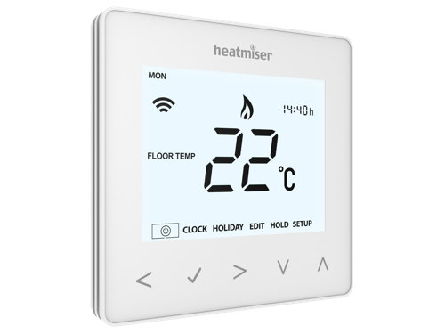 Thermostat plancher chauffant Heatmiser NeoAir  sans fils option Internet IFTTT Homekit