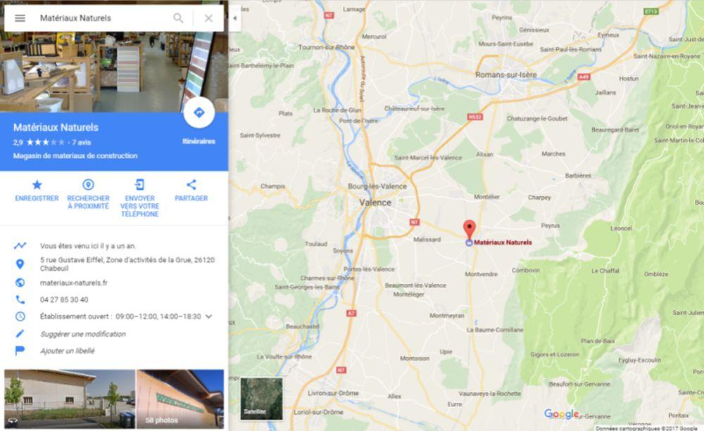 Position magasin plancher chauffant Matériaux Naturels JLL Diffusion à Valence