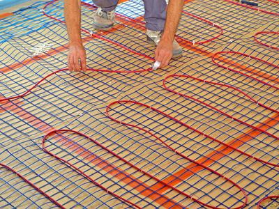 Possibilité de points chauds sur certains plancher chauffants électriques