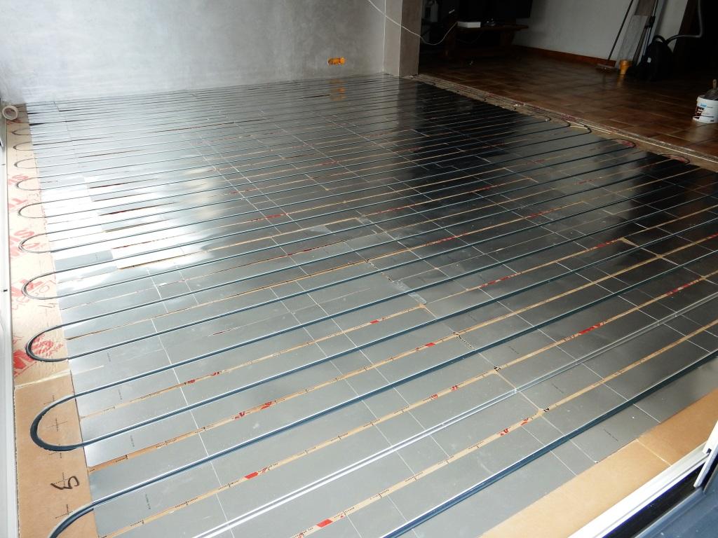 pose - installation de plancher chauffant - chauffage au sol près de Romorantin-Lanthenay - Mur-de-Sologne