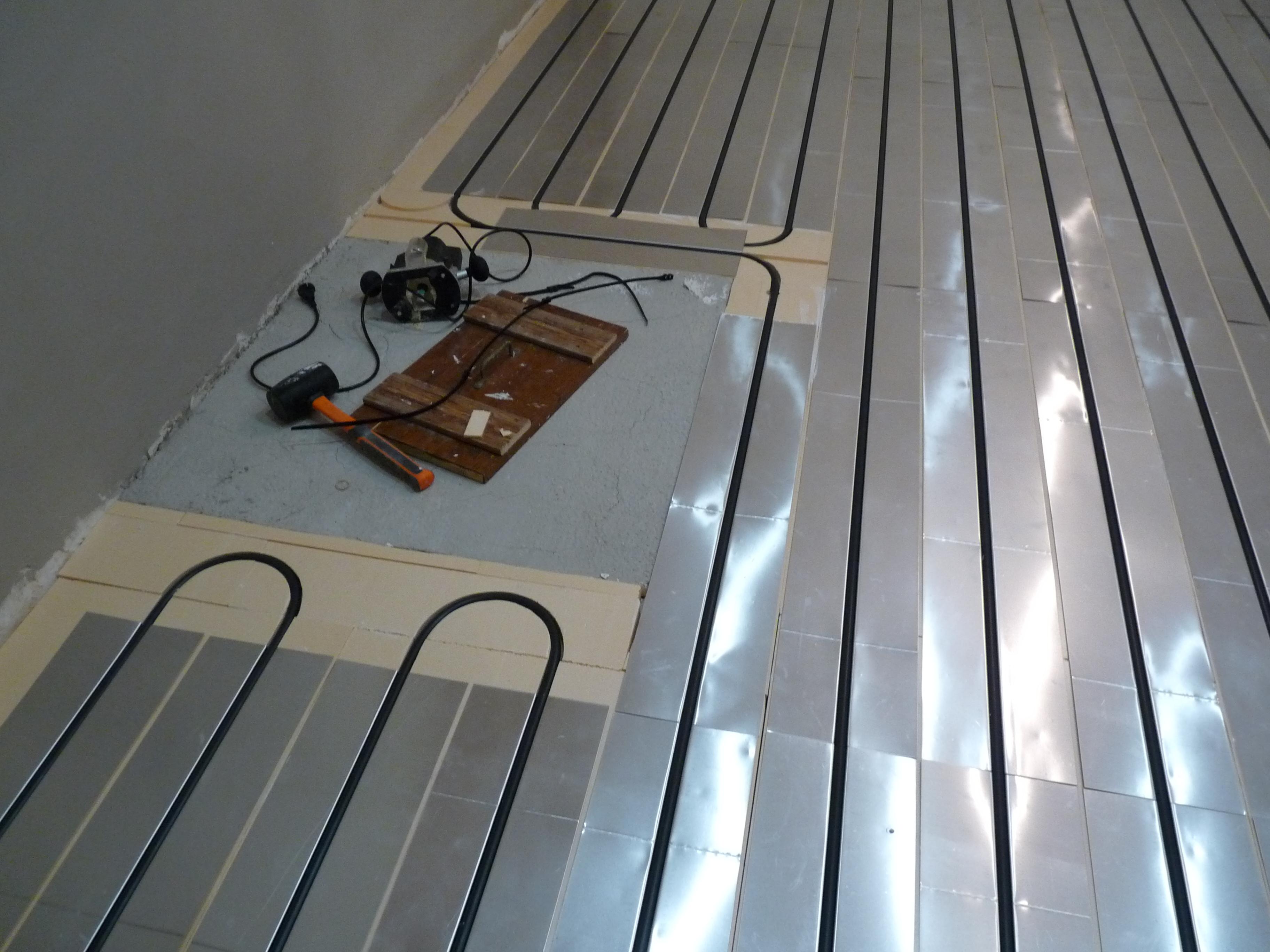 Plancher chauffant  Rénovation Caleosol Tradi XPS