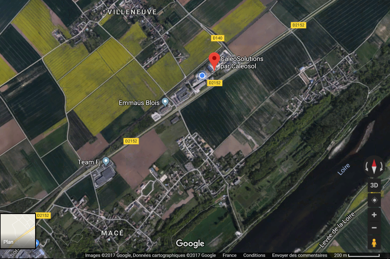 Magasin CaleoSolutions rénovation de chauffage de maison à Blois