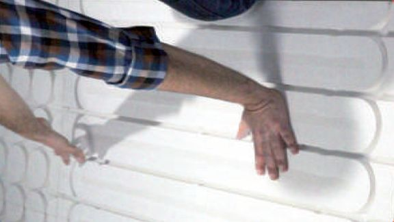 Le plancher chauffant rayonnant Caleosol pur Gypse en 18mm sans isolant