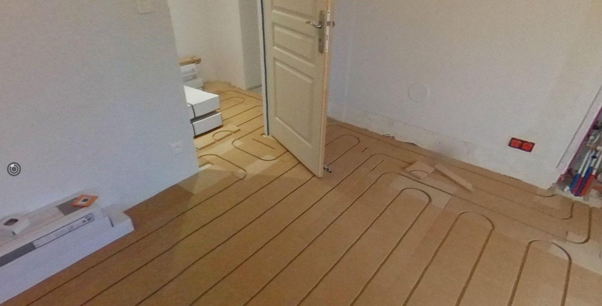 Pose plaque de fibre de bois spécial insonorisant et travaux de rénovation