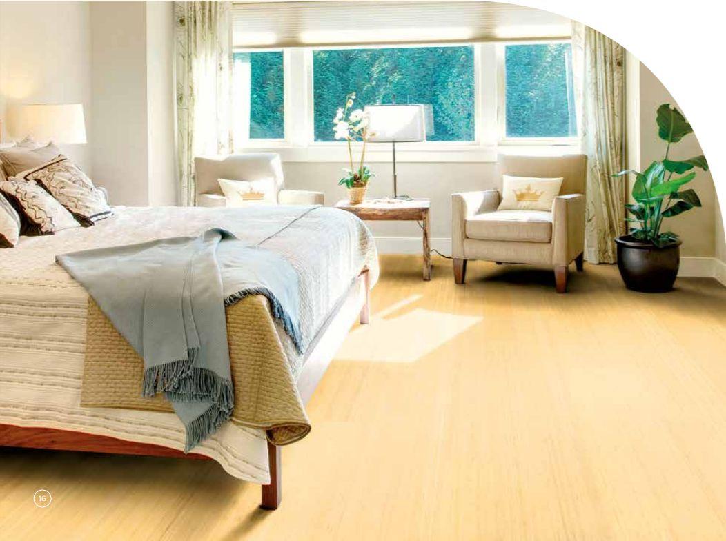 Parquet bamboo noble Moso pour plancher chauffant