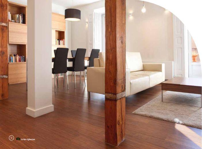 Parquet bamboo elite Moso pour plancher chauffant
