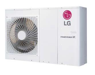 Pompe à chaleur LG Therma V 5 KW air eau monobloc R32