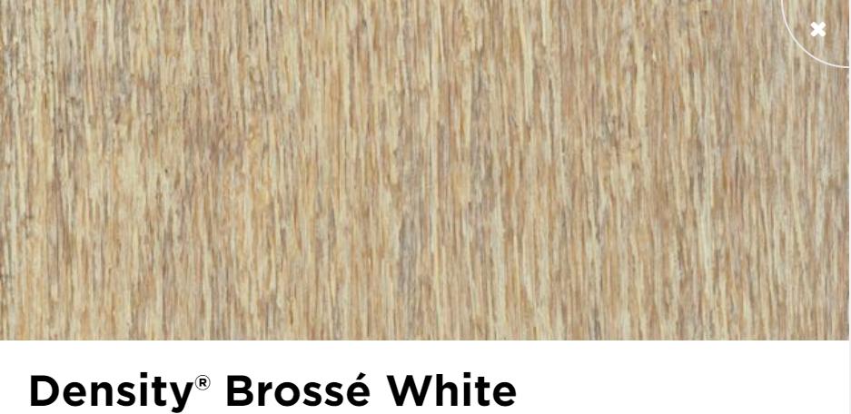 Parquet moso density white brosse verni