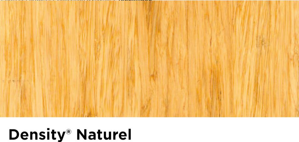 Parquet moso density naturel verni