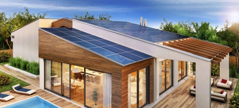 chauffage solaire maison individuelle