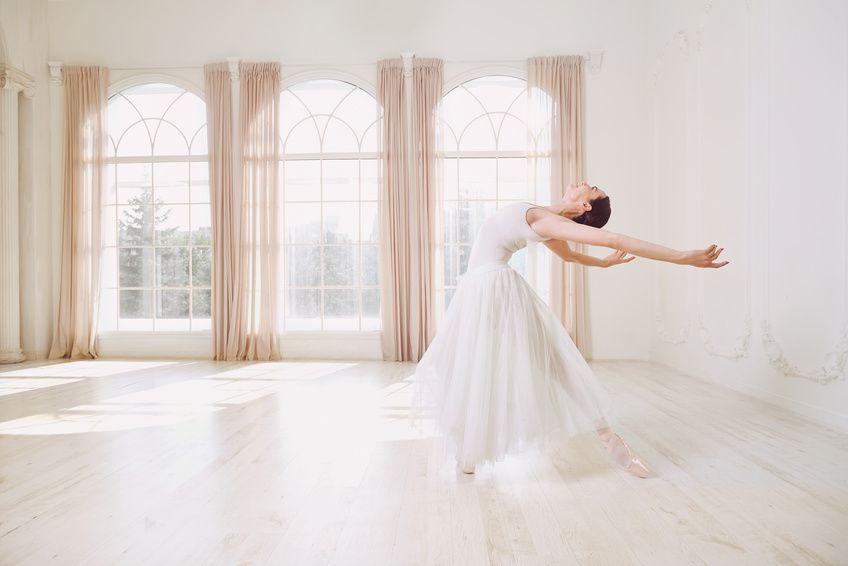 parquet massif pour plancher chauffant salle de danse