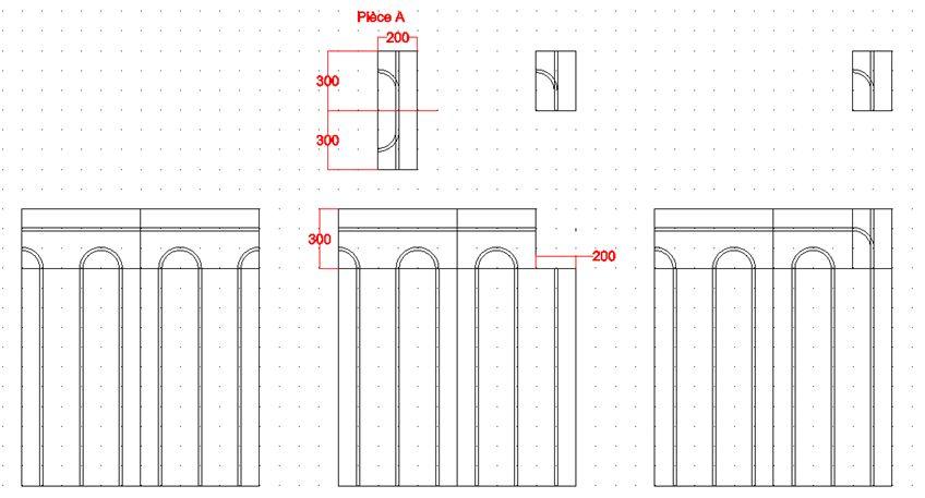 Exemple de patron pour le Caleopuzzle ECO+ 20mm