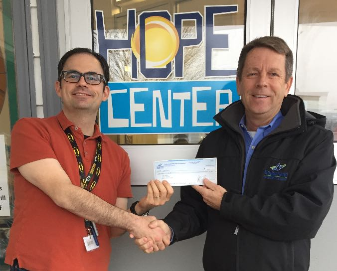 Badgerland Pressure Cleaning sponsoring Hope Center in Waukesha