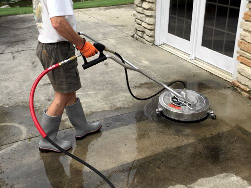 Residential Patio Cleaning in Waukesha