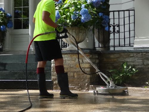 Commercial Concrete Cleaning in Waukesha
